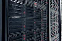 Server room. Royalty Free Stock Photo