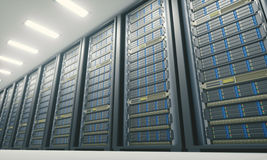 Server Room Data Center Royalty Free Stock Image
