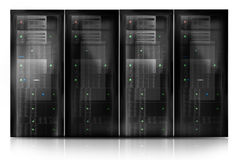 Server Room Datacenter Stock Photo