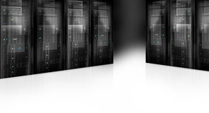 Server Room Datacenter Royalty Free Stock Images