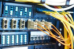 Server room equipment Stock Photos