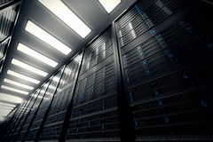 Server room. Stock Photo