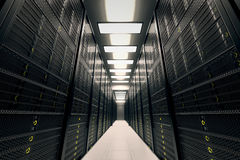 Server room. Stock Image