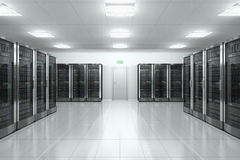 Free Server Room In Datacenter Royalty Free Stock Photography - 29565167