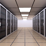 Server Room / Internet Hosting Royalty Free Stock Photos