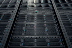 Server room. Royalty Free Stock Photography