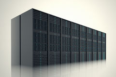 Server room. Royalty Free Stock Photos
