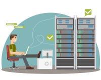 Server room Stock Image