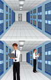 Server rooms  Stock Image