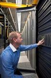 Server SAN/NAS do armazenamento Foto de Stock
