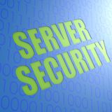 Server security Stock Image