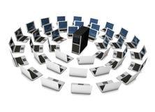 Server sharing Royalty Free Stock Image