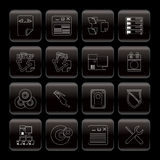 Server Side Computer icons Royalty Free Stock Photo
