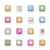 Server Side Computer icons Stock Photo