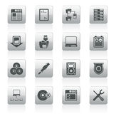 Server Side Computer icons Stock Photos