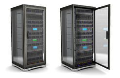 Server stand Stock Images