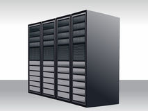 Server station Stock Images