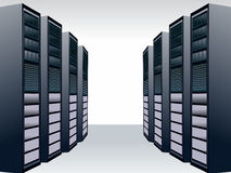 Server station Stock Photos