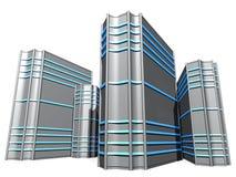Server Station. Servers for web design and stocks Stock Image