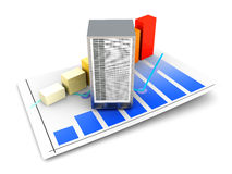 Server Statistics Stock Photography