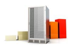 Server Statistics Stock Images