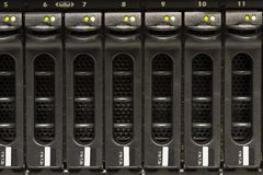 Server Storage Cabinet Royalty Free Stock Images