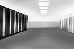 Server Tower Stock Image