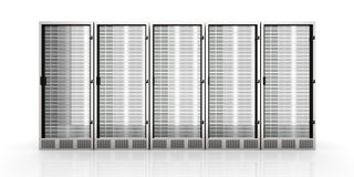Server Towers Royalty Free Stock Image