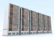 Server Towers Stock Image