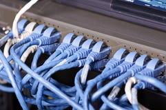 Server und Drähte Lizenzfreie Stockbilder