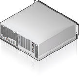 Server Unit Royalty Free Stock Photo