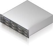 Server Unit Royalty Free Stock Photos