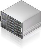 Server Unit Royalty Free Stock Photo