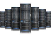 Server. Very elaborate network computer servers Royalty Free Stock Photos