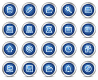 Server web icons Stock Photography