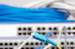 Server and wires Royalty Free Stock Photography