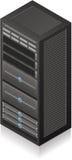 Server-Zahnstange Lizenzfreies Stockfoto