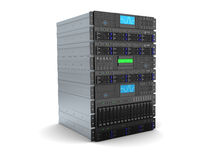 Servercomputer Stock Fotografie