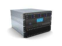 Servercomputer Royalty-vrije Stock Foto