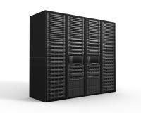 Servergestelle Stockfoto