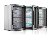 Servergestelle Lizenzfreies Stockfoto