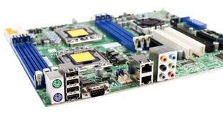Servermotherboard royalty-vrije stock foto