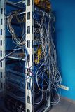 Serveror i serverrum Royaltyfri Bild