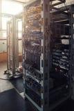 Serveror i serverrum Royaltyfria Foton