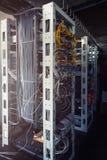 Serveror i serverrum Arkivbild