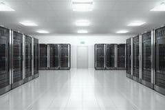 Serverraum im datacenter vektor abbildung