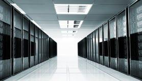 Serverraum Innenraum Lizenzfreie Stockfotografie