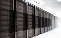 Serverraum Innenraum Stockbilder