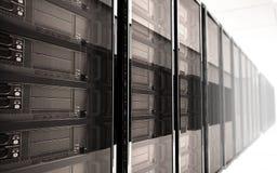 Serverraum Innenraum Stockfotografie