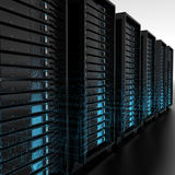 Servers Royalty Free Stock Photo
